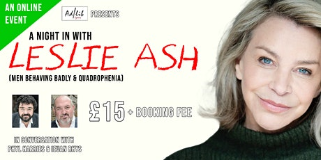 A Night in with Leslie Ash tickets