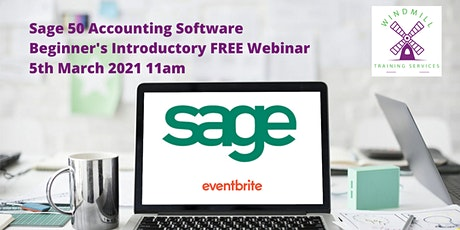 Sage 50 Beginners Introductory Webinar tickets