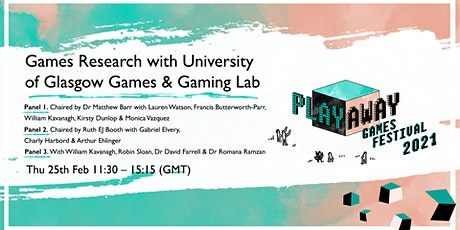 Games Research with University of Glasgow Games & Gaming Lab billets