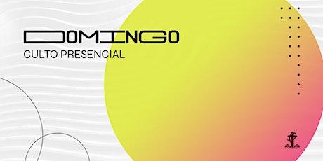 CULTO PRESENCIAL // DOMINGO ingressos