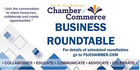 Business Roundtable: Geoscience BC - Peace Region Water Research Projects tickets