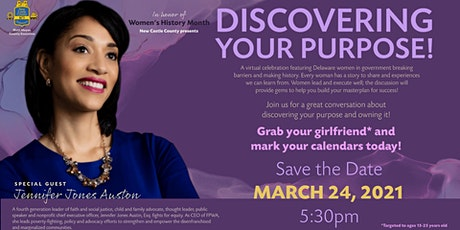 Women's History Month... Women in Government Discovering your Purpose tickets