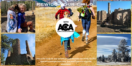 ReWild Your Child  at Mt Falcon Park with Always Choose Adventures tickets