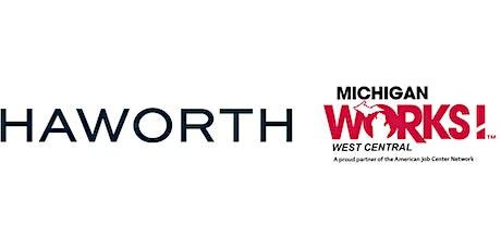 Virtual Job Fair for Haworth Inc. tickets