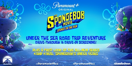 THE SPONGEBOB MOVIE: SPONGE ON THE RUN Under the Sea Road Trip Adventure tickets