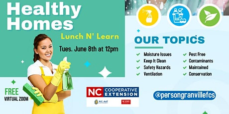 Healthy Homes tickets