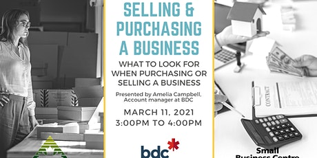 Selling & Purchasing a Business tickets