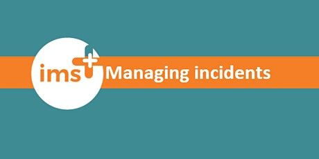 Managing incidents in ims+ tickets