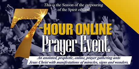 TuesdayWorld  7-Hour Online Prayer Event billets
