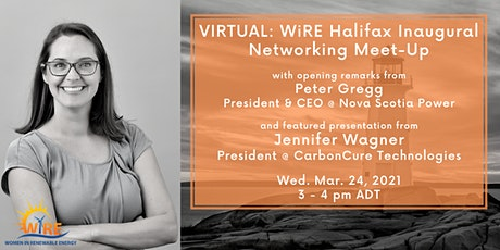 Virtual: WiRE Halifax Inaugural Networking Meet-Up tickets