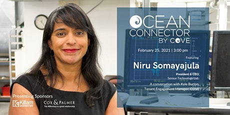 Ocean Connector with Niru Somayajula, President & CEO of Sensor Technology tickets