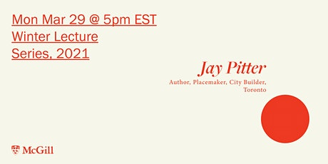 Winter 2021 Lecture Series: Jay Pitter tickets