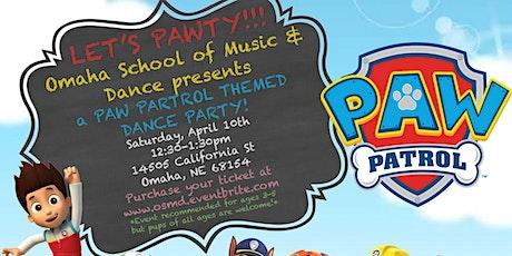 PAW PATROL DANCE PAWTY tickets