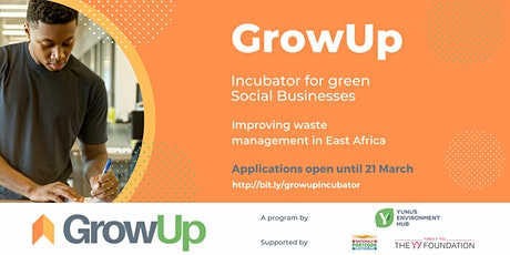 GrowUp Incubator for green Social Businesses: Info session tickets