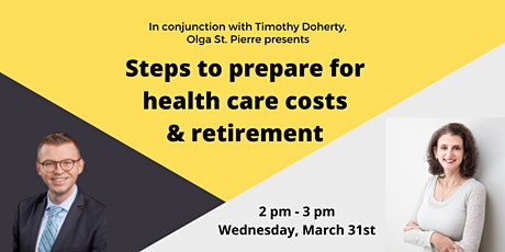 Webinar: Steps to prepare for health care costs & retirement tickets