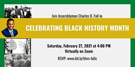 Celebrating Black History Month with Assemblyman Charles D. Fall tickets