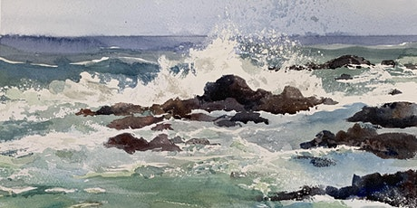 Painting Waves in Watercolor, with Kathy Rennell Forbes tickets