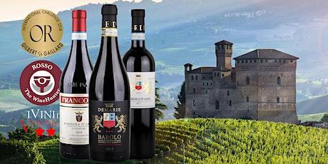 Zoom Tasting – Noble reds of Piemonte tickets
