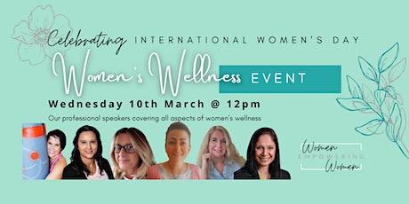 Women's Wellness Event - celebrating International Women's Day - WEWUK tickets