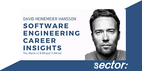 Software Career Insights with DHH tickets