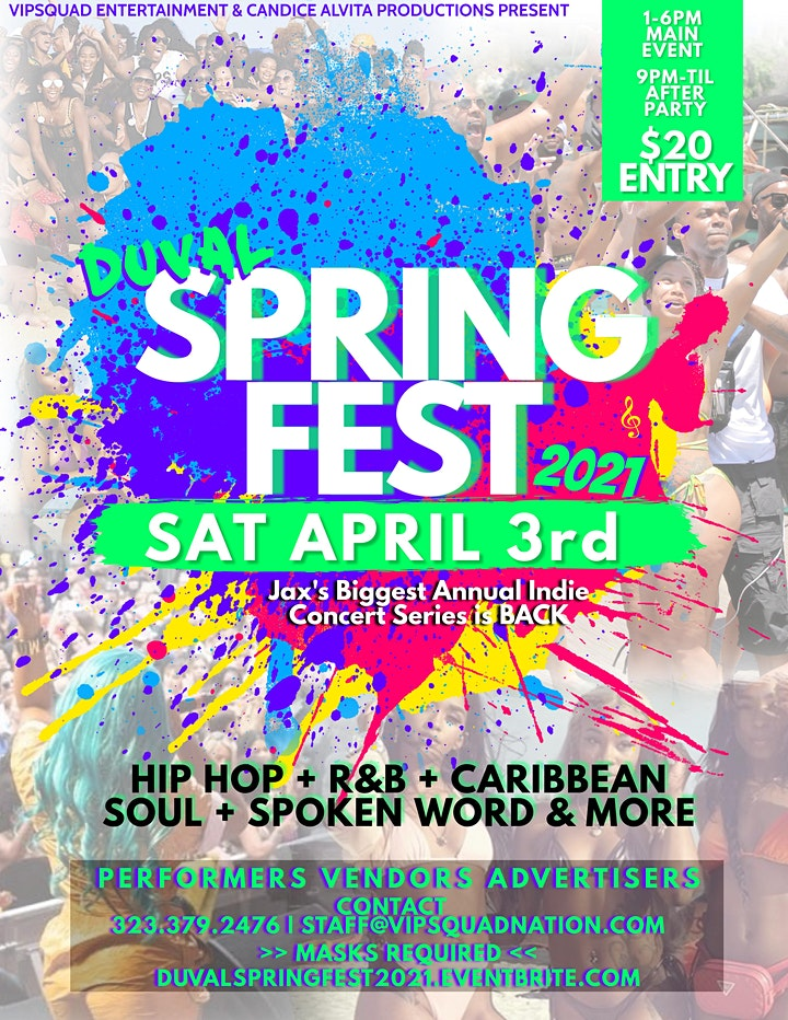 Duval Spring Fest 2021 image