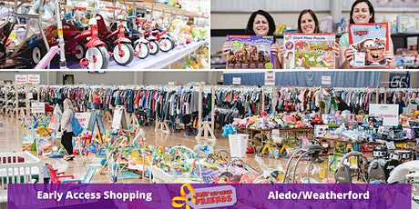 Early Access Shopping Ticket ~ JBF Aledo/Weatherford ~ 3/17 tickets