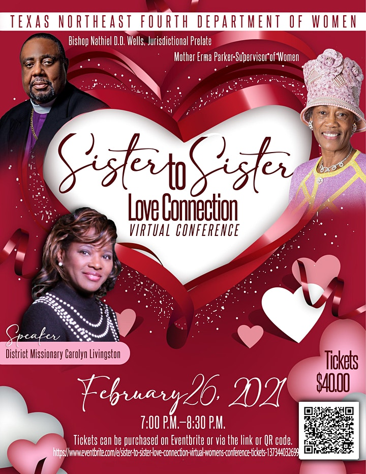 Sister to Sister Love Connection Virtual Women's Conference image