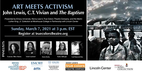 Art Meets Activism: John Lewis, C.T. Vivian and The Baptism tickets