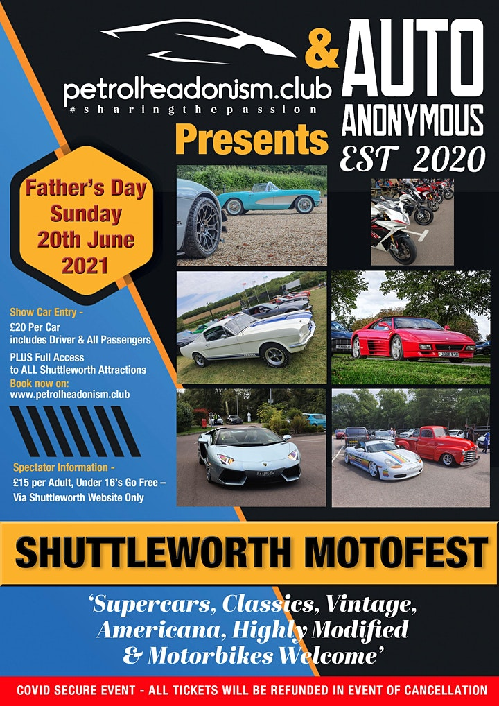 MOTOFEST'21 - FATHER'S DAY AT THE SHUTTLEWORTH COLLECTION image