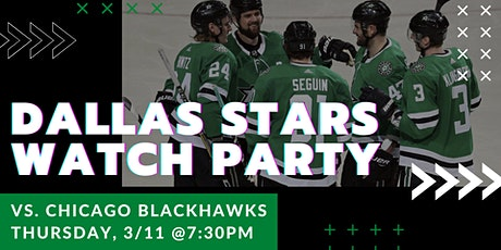 Blackhawks v. Stars Watch Party at Legacy Hall tickets