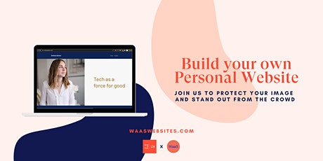 Build your Personal CV website with WaaS Websites tickets