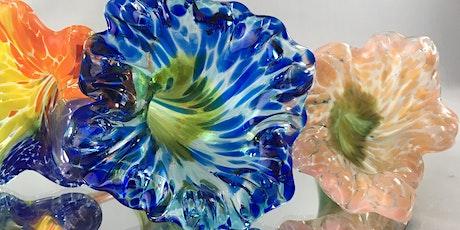 Create Flowers with HOT Glass with multi-talented artist Kenton Pratt tickets