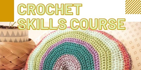 Crochet Skills Course: Rainbow Fringe Pillow tickets