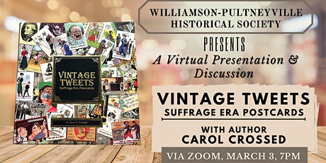 Live Presentation with the Author of Vintage Tweets: A Book of Postcards tickets