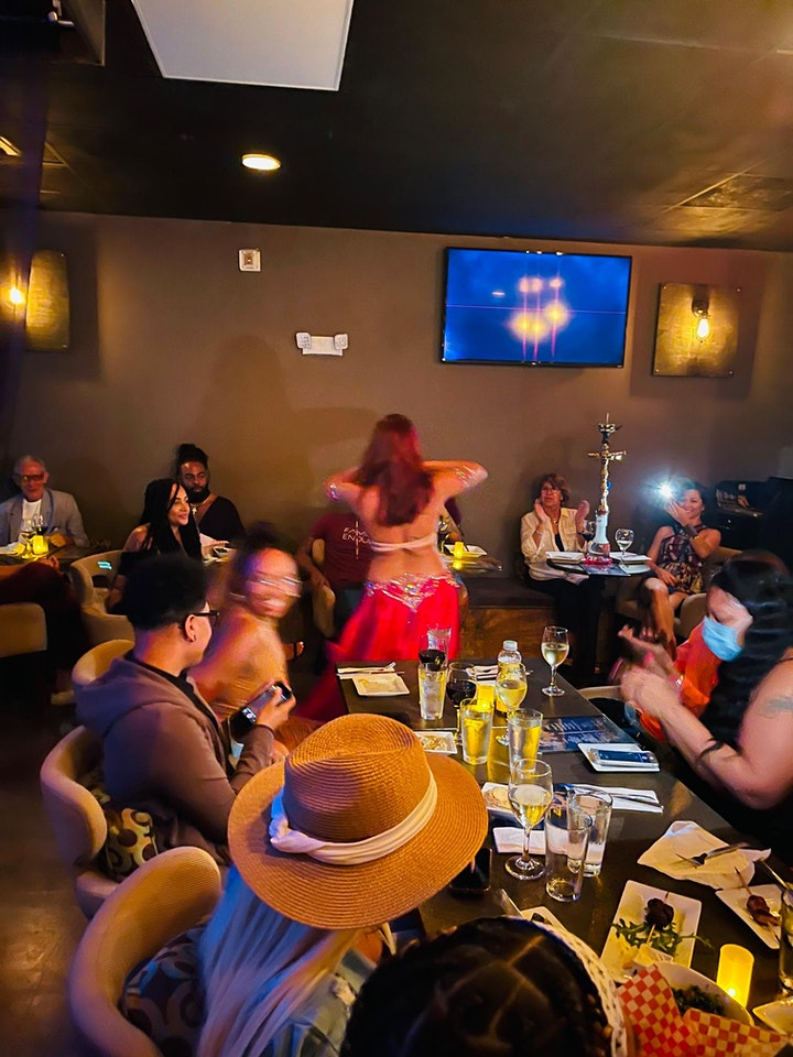 DINNER & BELLY DANCE SHOW - Saturday, June 26th image