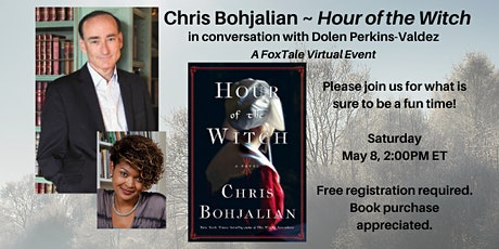 Chris Bohjalian & Dolen Perkins-Valdez, Hour of the Witch Virtual tickets