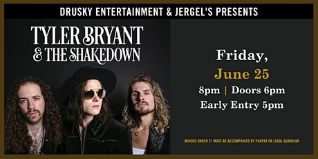 Tyler Bryant and The Shakedown tickets
