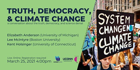 UConn Reads:  Truth, Democracy, and Climate Change tickets