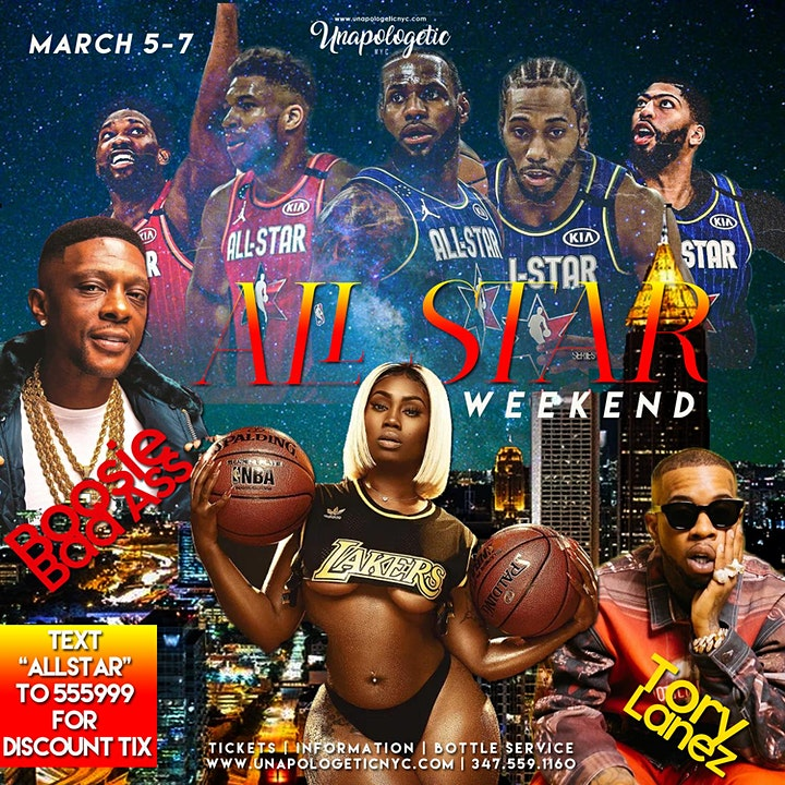 Boosie Bad Azz  + Tory Lanez Live | NBA ALL STAR WKEND ATLANTA image