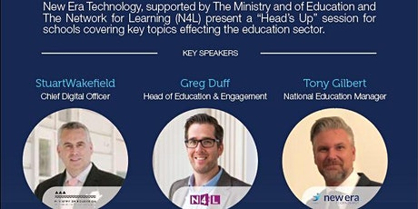 """New Era  CHRISTCHURCH """"Heads Up"""" (feat. The Ministry of Education and N4L) tickets"""