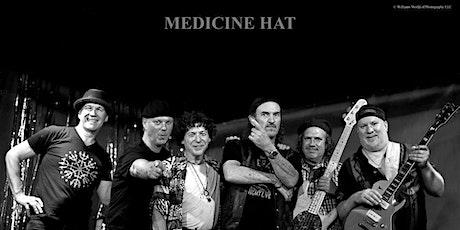 Medicine Hat with the Davanos tickets