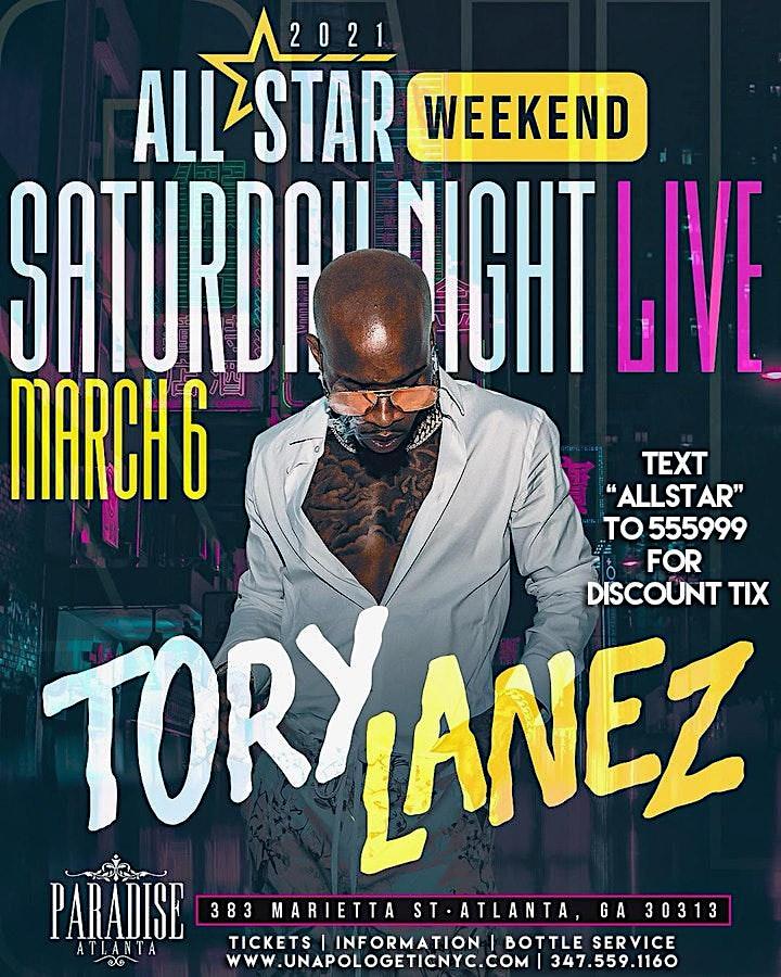 Tory Lanez Live | NBA ALL STAR WKEND ATLANTA image