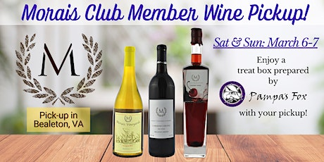 Member Wine Pick-up at Morais Vineyards tickets