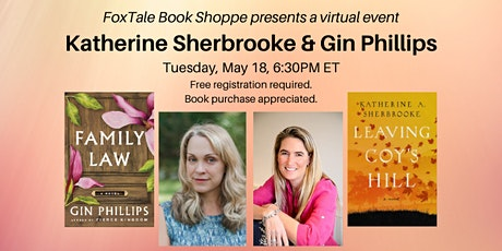 Katherine Sherbrooke & Gin Phillips, a virtual event tickets