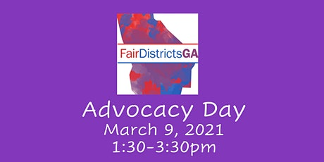 Fair Districts GA 2021 Advocacy Day tickets