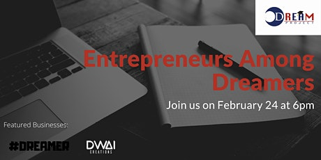Entrepreneurs among Dreamers tickets