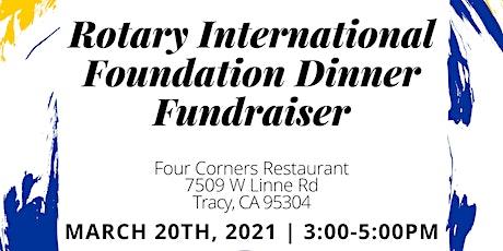 Rotary International Foundation Dinner Fundraiser tickets