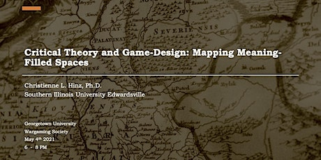Critical Theory and Game-Design: Mapping Meaning-Filled Spaces tickets
