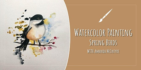 Painting Spring Birds with Amanda McIntyre tickets
