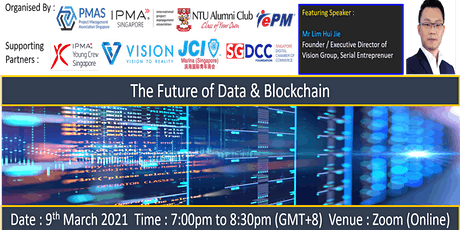 The Future of Data & Blockchain tickets